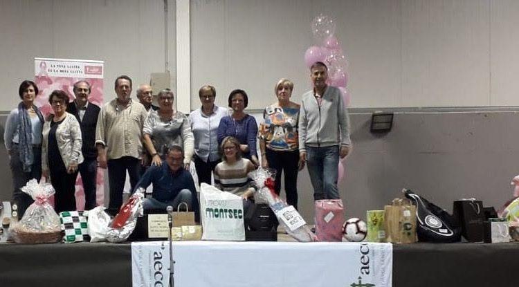 Èxit del sopar solidari contra el càncer de Balaguer