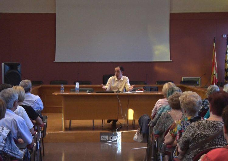 Francesc Canosa inaugura les Aules de Formació de la Noguera