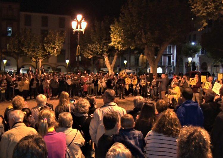 Prop d'un miler de persones es manifesten a Balaguer en rebuig a la sentència del Tribunal Suprem