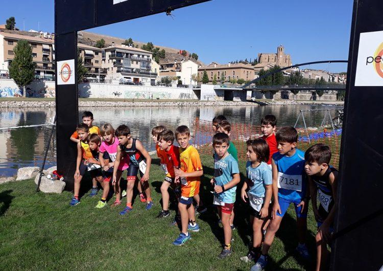 Balaguer celebra el 7è Duatló Infantil amb més de 100 participants