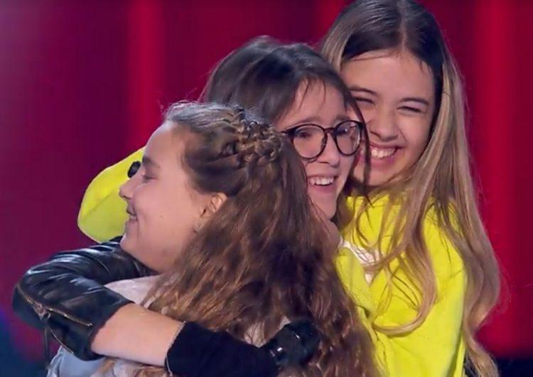 """Maria Fernández es queda a les portes de la semifinal de """"La Voz Kids"""""""