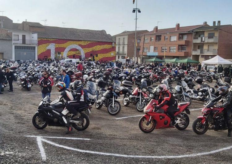 Més de 400 motos participen a la Gripada de Bellcaire d'Urgell