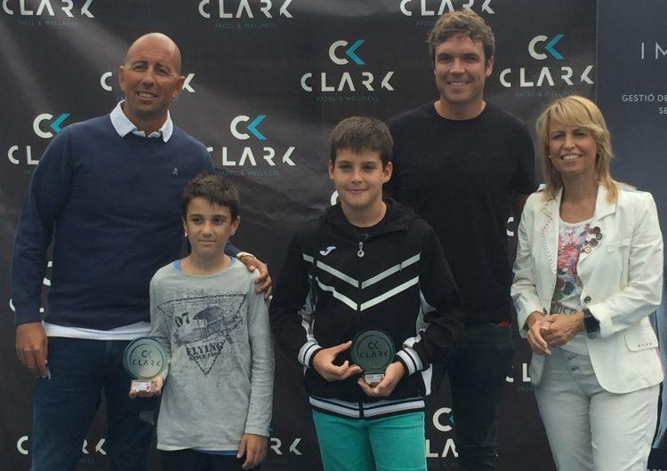 Íker Castillo i Gerard Navas, campions del VI Súper Gran Slam de menors del circuit de la Federació Catalana de Pàdel