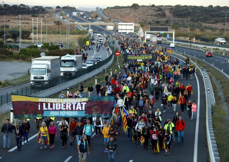 Arrenquen les Marxes per la Llibertat des de diferents punts de Catalunya