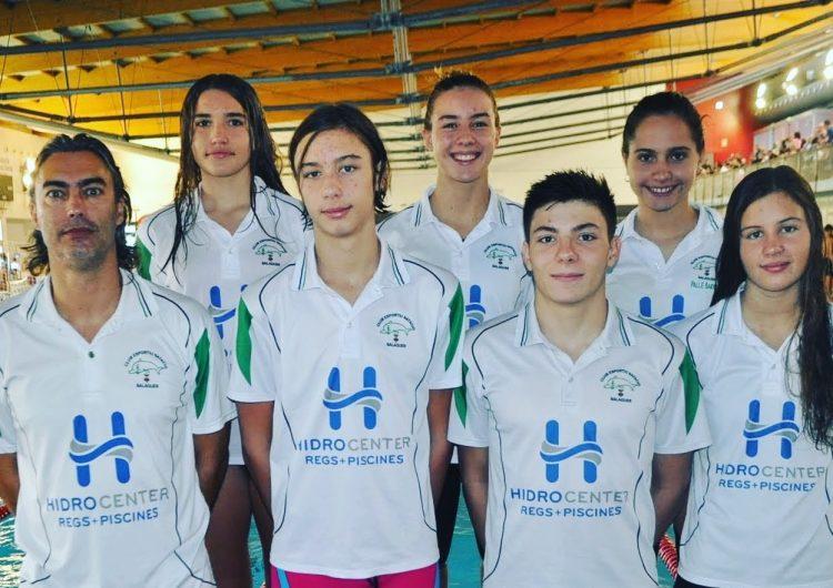 Bon paper dels nedadors balaguerins al Circuit Català Absolut de natació