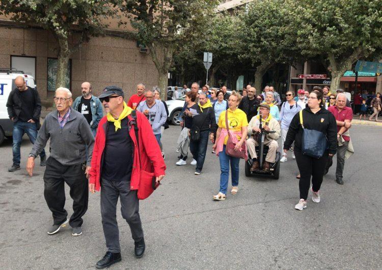 Balaguer surt al carrer en reacció a la sentència del Suprem