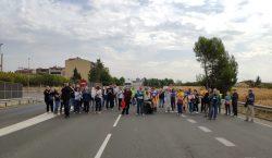 Tallen la variant de la c-26 a Balaguer en protesta…
