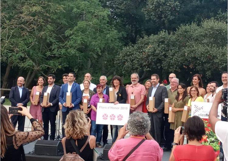 Balaguer aconsegueix tres Flors d'Honor del projecte Viles Florides del 2019