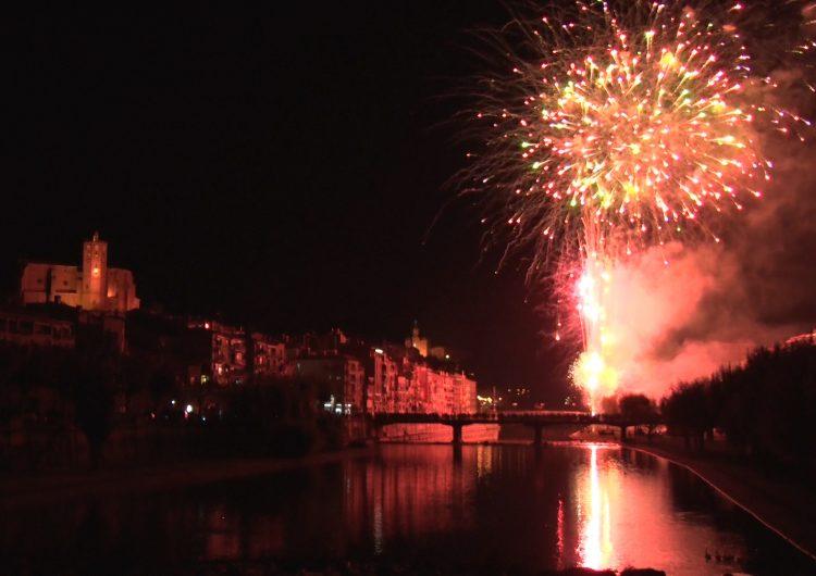 El Piromusical posa fi a les Festes del Sant Crist de Balaguer