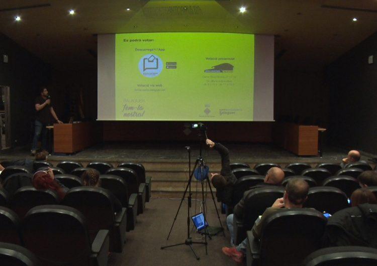 Balaguer ha iniciat el procés de votació dels primers pressupostos participatius