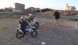Èxit a l'activitat extraescolar de motociclisme impulsada per l'expilot Dani…