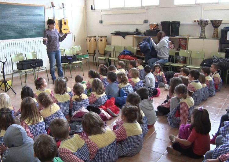 L'escola La Noguera celebra Santa Cecília, patrona de la música i els músics
