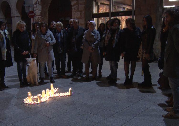 La Noguera homenatja les víctimes de la violència masclista