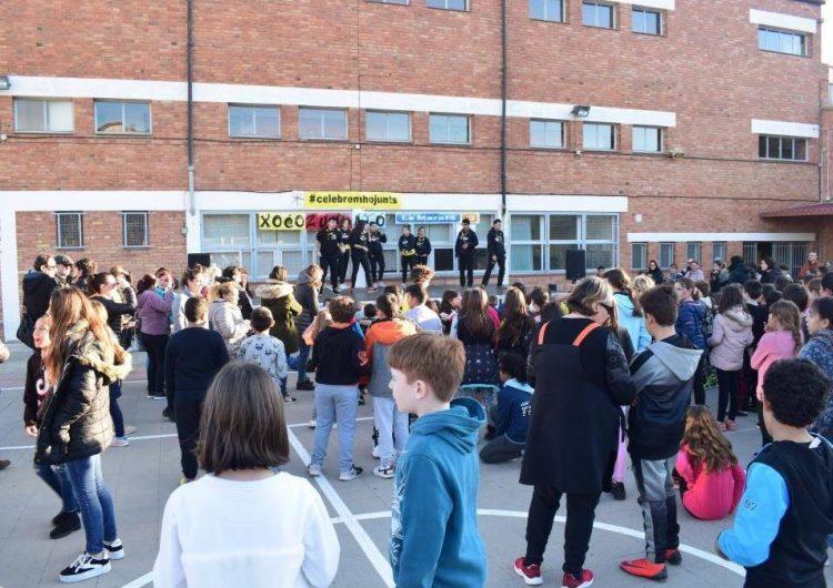 """L'escola La Noguera obté 316 euros en benefici de'La Marató de TV3' amb el """"Xocozumbató"""""""