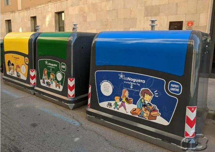 La plantilla de recollida d'escombraries de la Noguera inicia una vaga