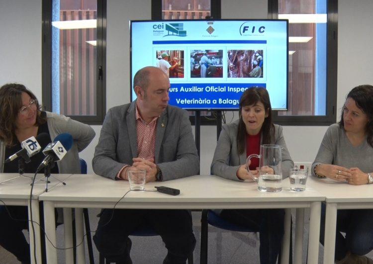 El CEI de Balaguer acollirà un curs d'auxiliar oficial d'inspecció veterinària per escorxadors