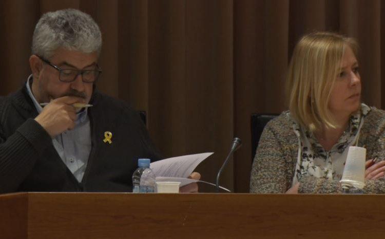 Núria Giné dimiteix com a presidenta local de JuntsxCat a Balaguer i Josep M. Roigé com a membre del comitè