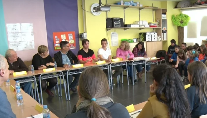 Representants de les facultats d'educació del País Basc visiten la Noguera