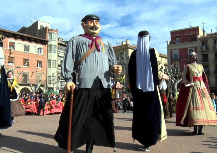 Balaguer celebra el dia més important de la festa major en honor al Sant Crist