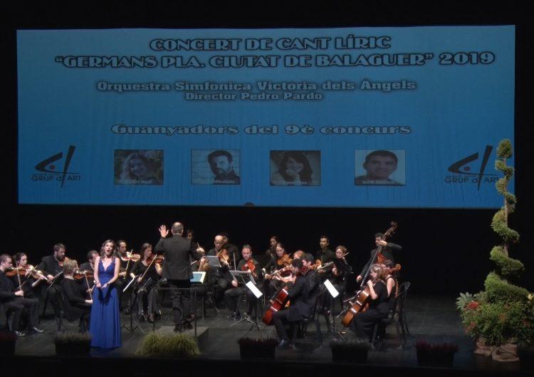 L'obra de Mozart protagonitza el concert dels guanyadors del concurs de cant líric 'Germans Pla. Ciutat de Balaguer'