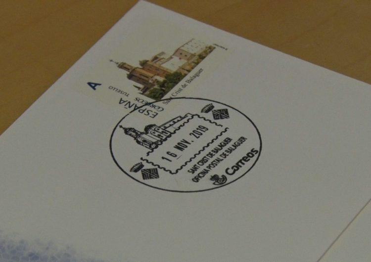 El Sant Crist de Balaguer il·lustra un nou mata-segells turístic