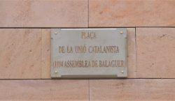 Balaguer commemora el 125è aniversari de l'Assemblea de la Unió…