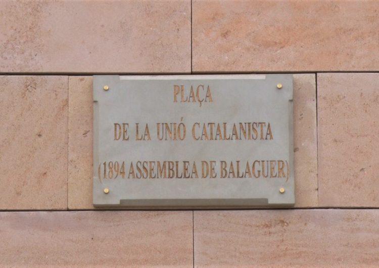 Balaguer commemora el 125è aniversari de l'Assemblea de la Unió Catalanista que es va celebrar a la ciutat