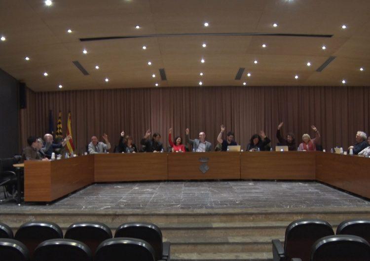 El ple de Balaguer aprova una moció de rebuig a les actuacions policials en les manifetacions post-sentència