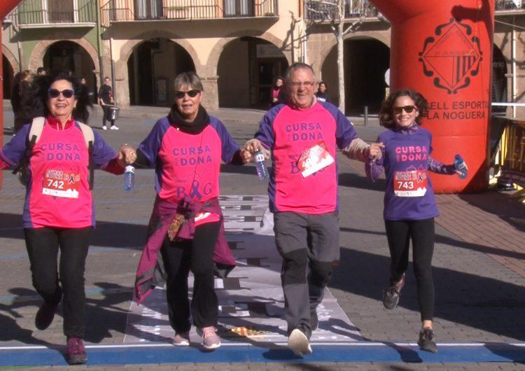 Prop de 900 persones uneixen forces a Balaguer per combatre la violència envers les dones