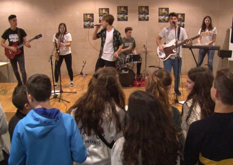 'Hao Band' sona a casa en el concert de Santa Cecília de l'Escola Municipal de Música de Balaguer