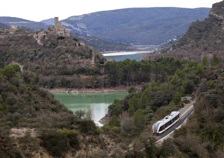 La línia del tren de Lleida-La Pobla de Segur confia superar els 250.000 viatgers