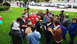 Membres de l'Estel de Balaguer participen en la gravació d'un…