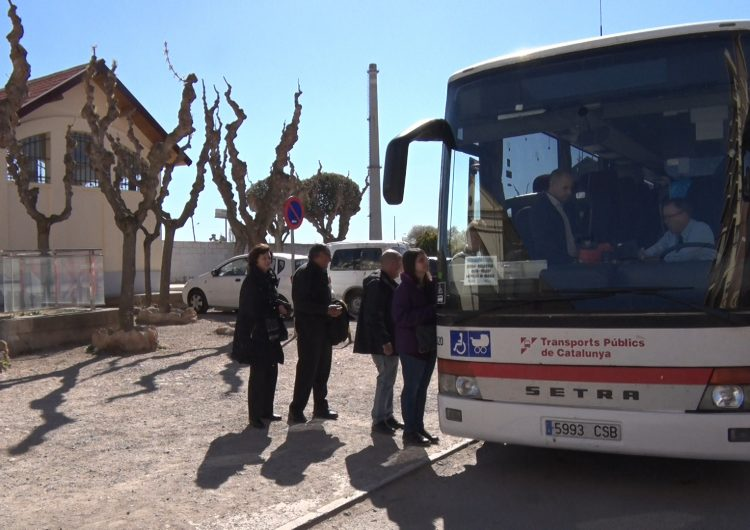 Servei d'autobús substitutori a la línia Lleida-La Pobla per tasques programades de manteniment