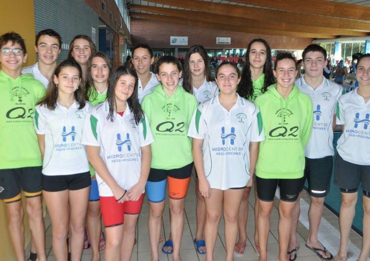 Bons resultats del CEN Balaguer a la lliga Catalana de Natació Aleví i Infantil i del Trofeu Absolut de Cervera
