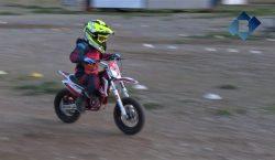 Oriol Vich, campió de Catalunya de velocitat i motocròs amb…
