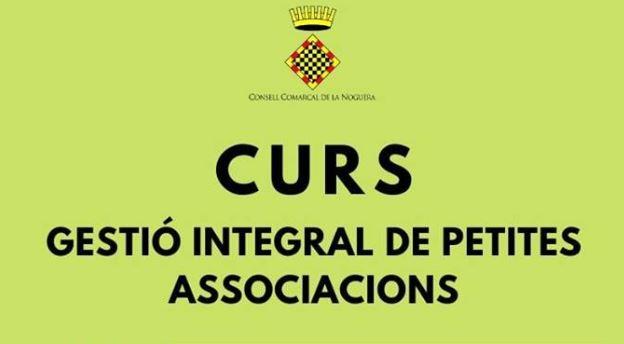 El Consell Comarcal de la Noguera ofereix un curs de gestió integral de petites associacions