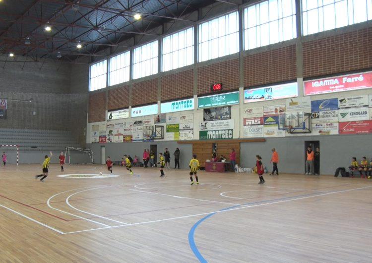 El 5è Torneig Solidari de l'EFS Balaguer Comtat d'Urgell i Creu Roja Joventut aplega prop de 200 infants