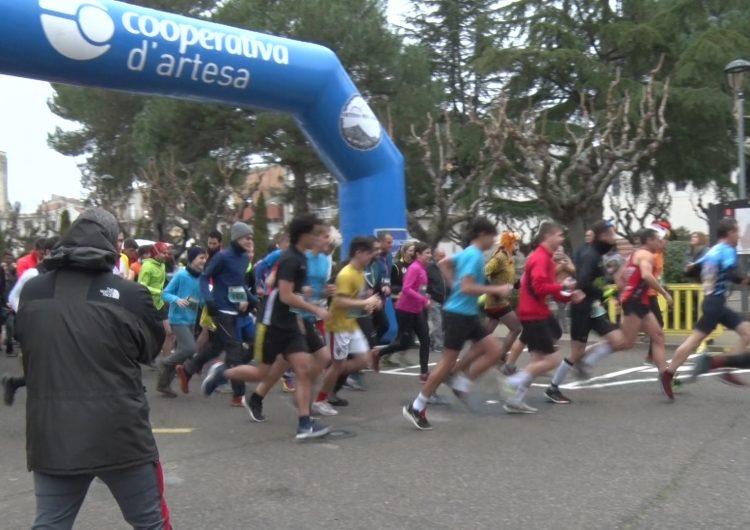 Prop de 160 atletes participen a la 9a Trail Sant Silvestre d'Artesa de Segre