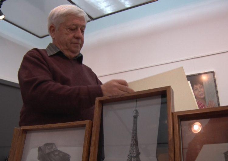 Antoni Batalla mostra la seva obra a la Paeria de Balaguer