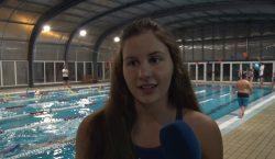 Aurembiaix Pifarré, bronze als campionats de Catalunya de natació de…