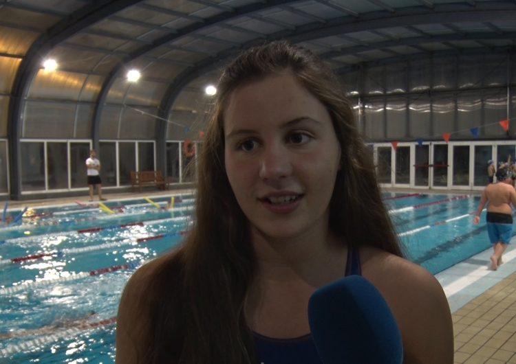 Aurembiaix Pifarré, bronze als campionats de Catalunya de natació de fons