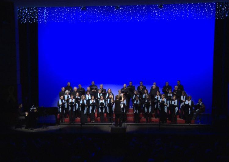 L'Orfeó Balaguerí també homenatja a Teresa Pàmies en el tradicional concert de Nadal