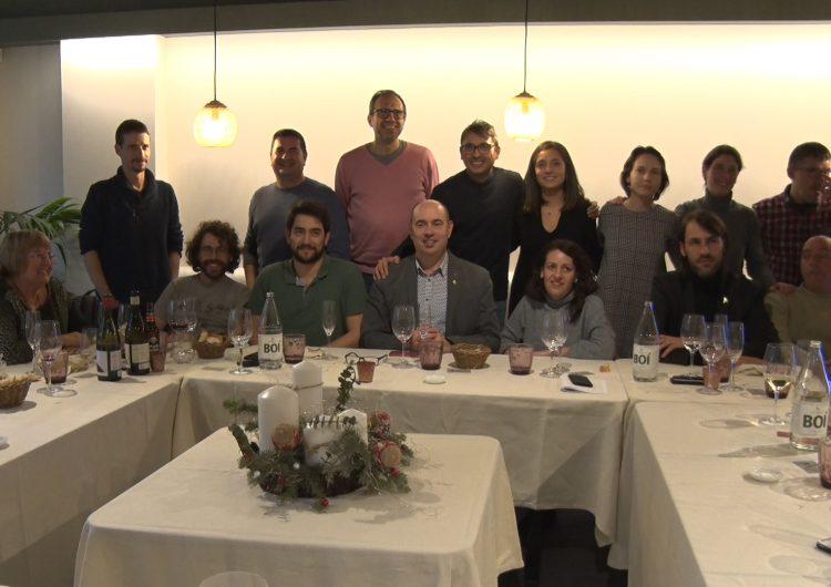 La Paeria de Balaguer fa balanç de l'any 2019 al tradicional dinar amb la premsa