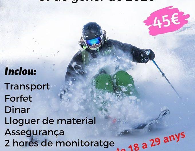 L'Oficina Jove de la Noguera organitza una esquiada jove a Port Ainé