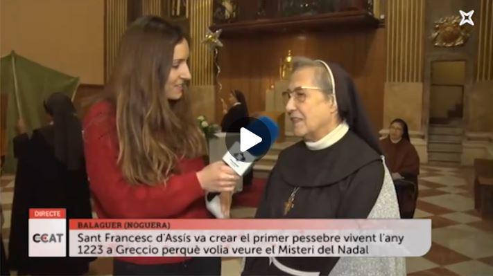 Connecti.cat: El Misteri del Nadal, amb les monges clarisses de Balaguer