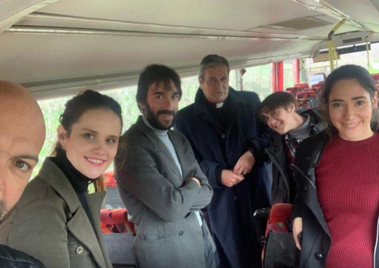 L'actriu balaguerina Gemma Castell, entre les protagonistes d'un film de terror