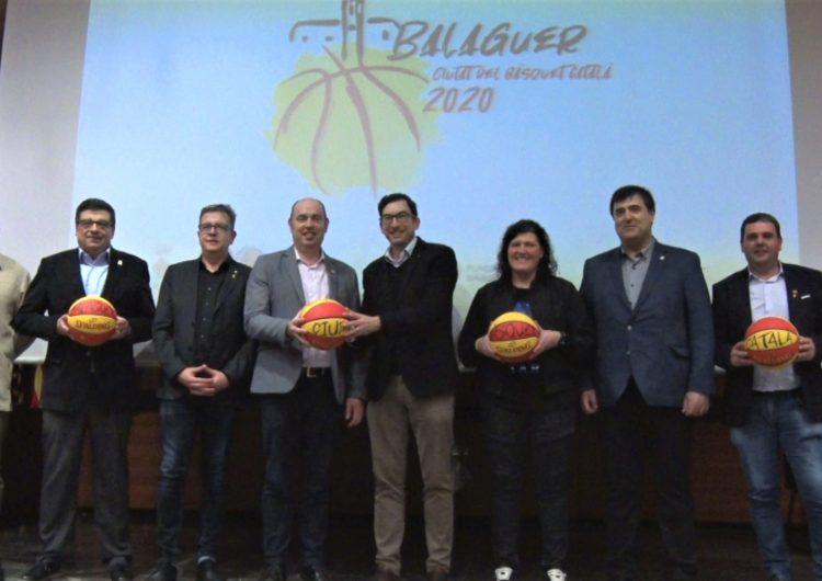 Balaguer continuarà sent 'Ciutat del Bàsquet Català' durant l'any 2021