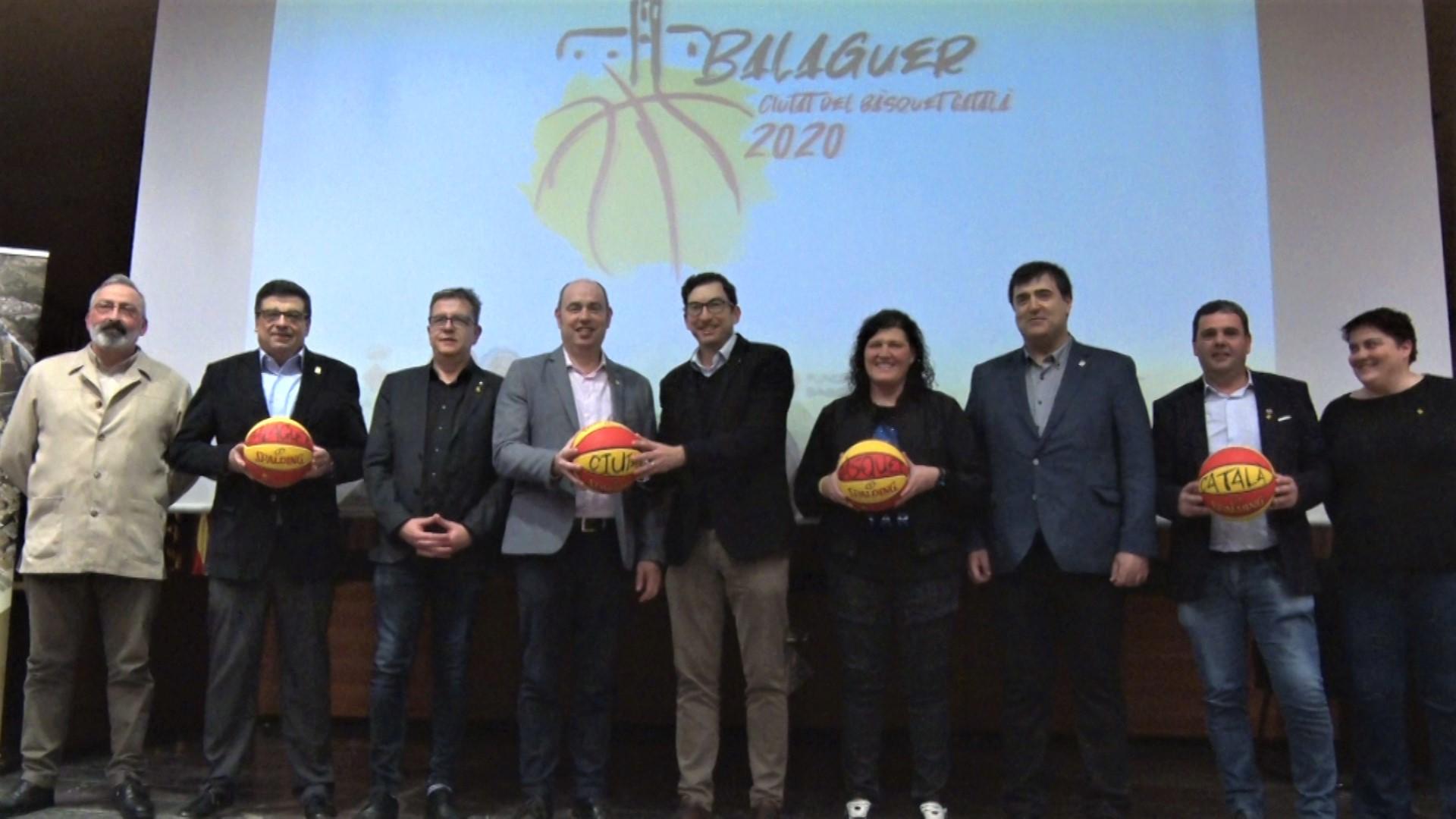 Tret de sortida a 'Balaguer 2020. Ciutat del Bàsquet Català'