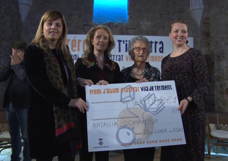 La veïna de Balaguer Natallia Domanova, guanyadora del primer Premi Àlbum Il·lustrat Vila de Térmens