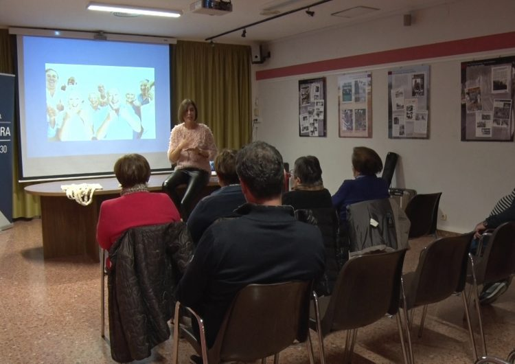 Taller de l'Institut Dental la Noguera i el Consell Comarcal a la gent gran de Vallfogona de Balaguer